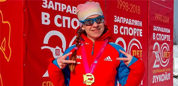 Фото лыжницы - Николаева Светлана, Рыбинск