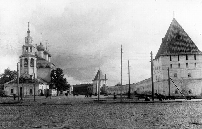 Фото старого Ярославля - Экскурсии по Ярославлю