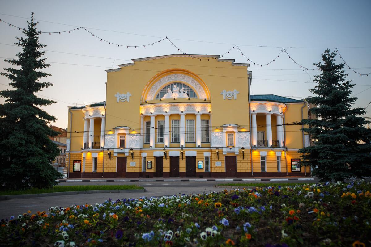 Фото достопримечательности - Театр имени Федора Волкова в Ярославле