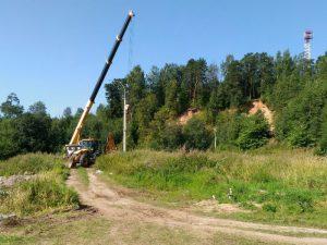 Фото местности - В Демино идет 2-й этап строительства биатлонного комплекса Рыбинск 2018