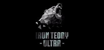 Логотип соревнования - IRON TEDDY ULTRA. Ярославль. Медведь