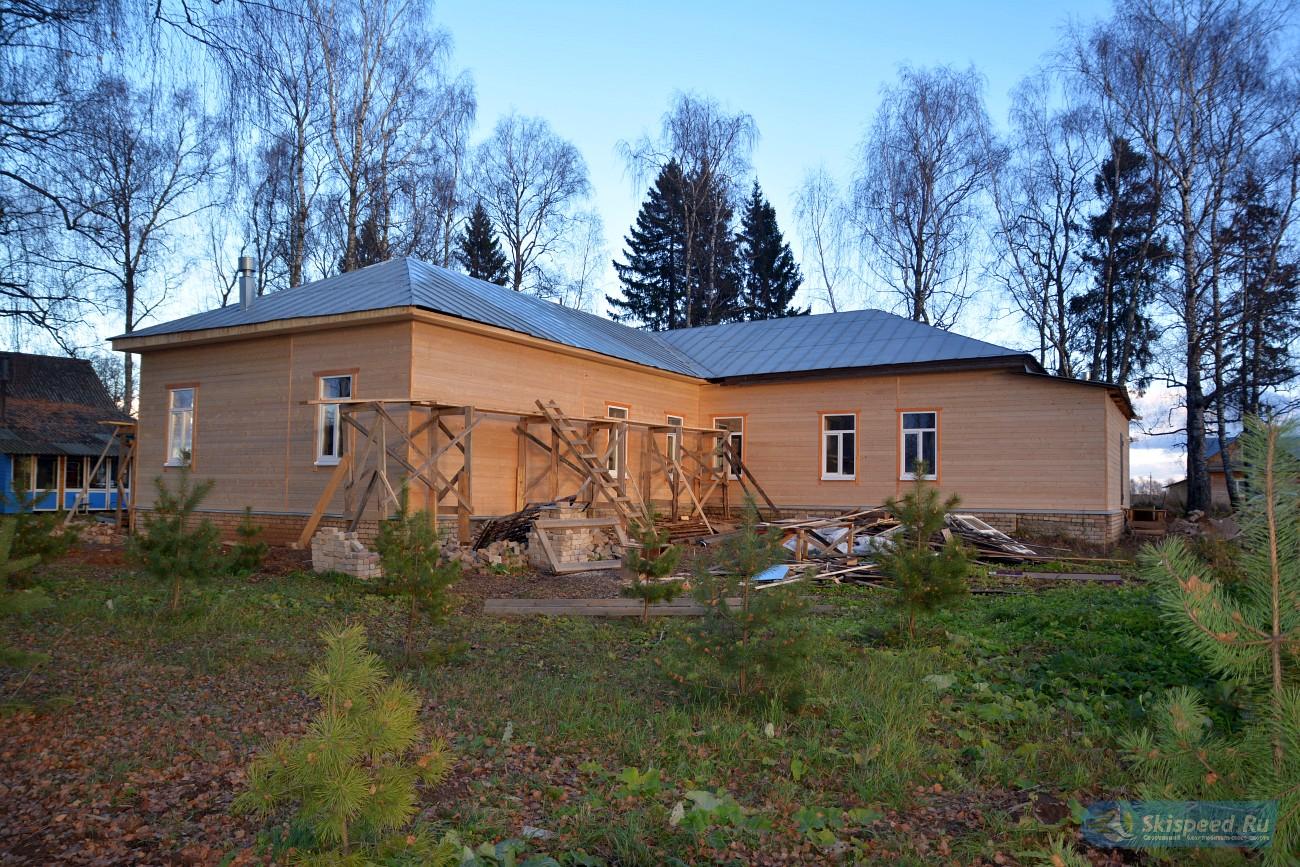 Фото - Строительство спортивной гостиницы в Неверово. Кострома