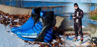 Фото лыжных ботинок Spine Carrera Carbon Pro 598. Отзыв. Обзор тренера