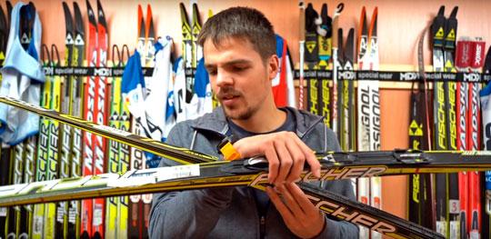 Фото М. Тартынского - Беговые лыжи Fischer (Фишер). Как выбрать. Классика. Советы на видео