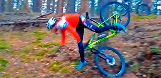 Фото спортсмена - Вело падение в Вакарево, Ярославль