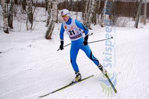 Фото лыжника - Лыжные гонки в Подолино. Яковлев Сергей, Ярославль