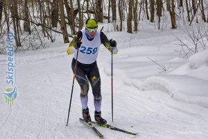Фото лыжника - Лыжные гонки коньковым стилем в Нерехте, Костромская обл.