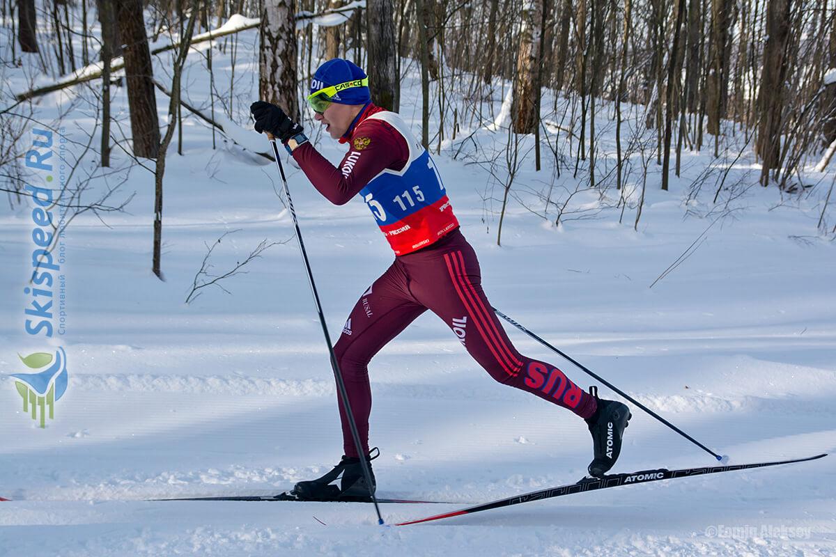 Фото лыжника - Лыжные гонки классикой в Ярославле, Подолино