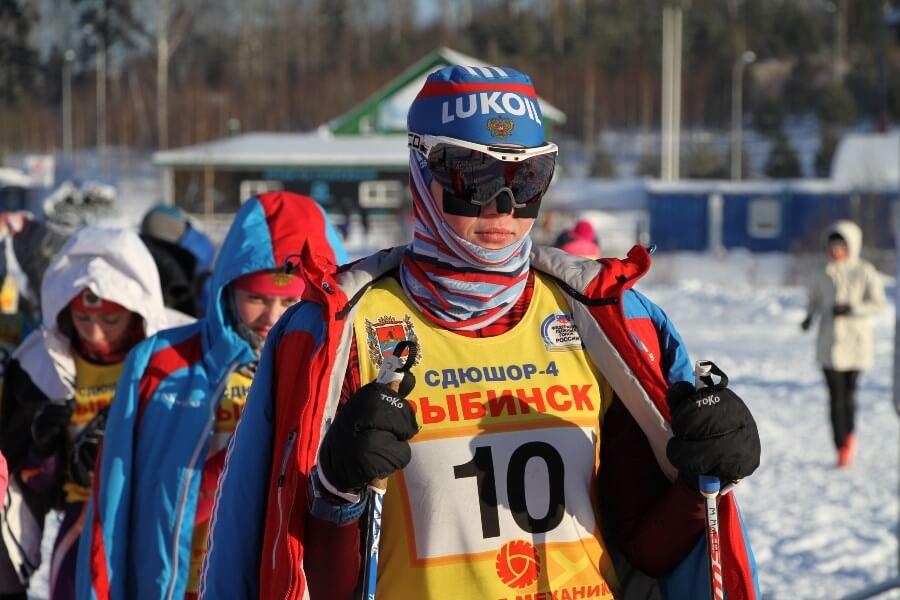 Фото лыжника - В Демино проходит чемпионат ЦФО 2019 по лыжным гонкам