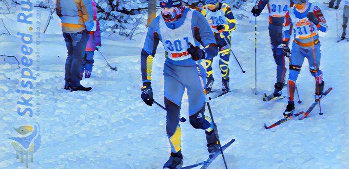 Фото лыжников - Лыжные гонки памяти Сергея Русских