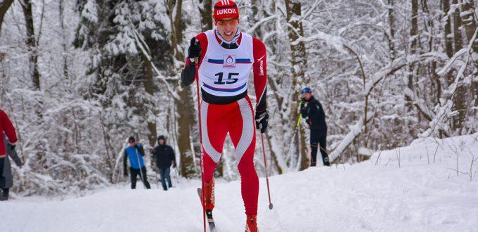 Фото лыжника - Лыжные гонки классикой в Костромской обл., Чижово