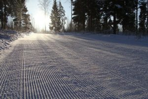 Фото дистанции лыжной гонки - Трассы Дёминского лыжного марафона 2019, Рыбинск, Ярославская обл.