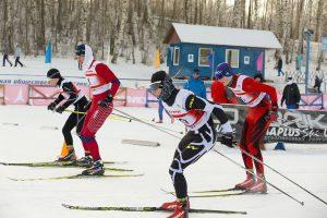 Фото старта лыжников - Лыжные гонки в Подолино, Ярославль