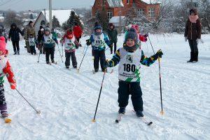 Фото малышей на лыжне - Лыжная гонка пам. Казачковой Г. А. 2019, Данилов