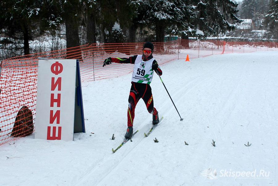 Фото юного лыжника - Лыжная гонка пам. Казачковой Г. А. 2019, Данилов