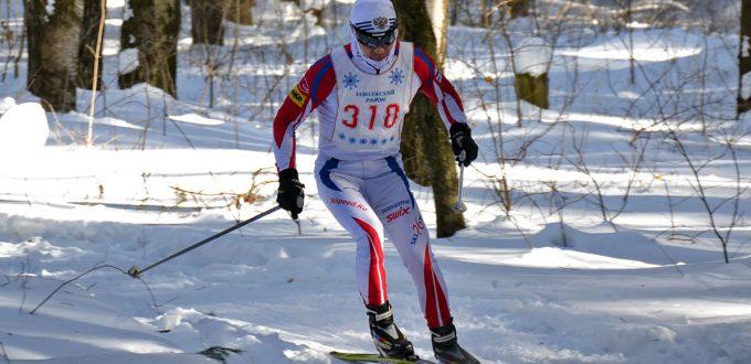 Фото ярославского лыжника - Скворцов Андрей. Ярославская лыжная гонка памяти Р.В. Крупина 2019