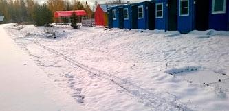 Фото - Вагончики в Демино. Аренда на Деминский лыжный марафон