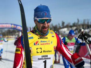 Фото лыжника - Фомин Алексей. Дёминский лыжный марафон 2019