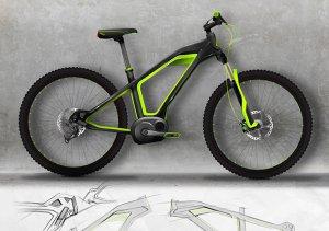 Фото макета-картинки - Проект велосипеда TRON по дизайну PARADOX