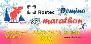 Дёминский лыжный марафон 2020. Афиша