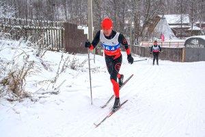 Фото лыжника Кирсанов А. Лыжные гонки. Ярославль