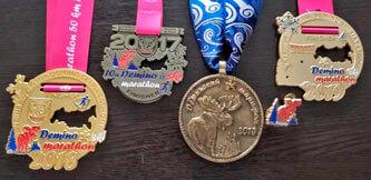 Медали Деминского лыжного марафона