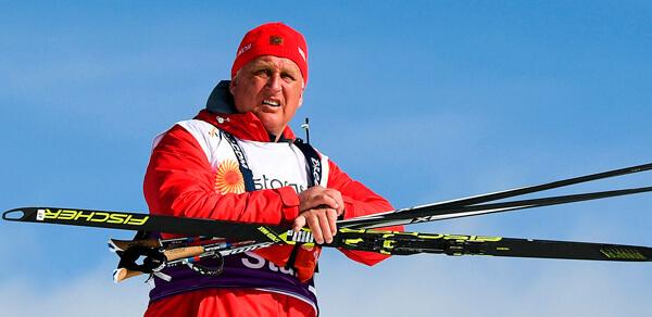 Бородавко Юрий. Тренер сборной России по лыжным гонкам